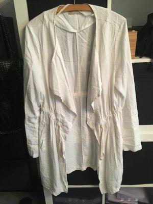 Weiße leichte Jacke Gr. L