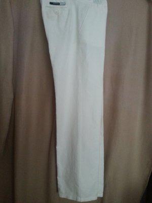 Sportmax Linen Pants white linen