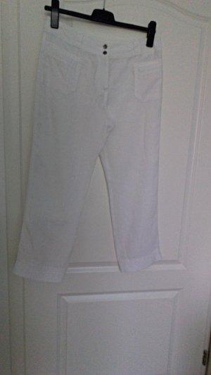 Weisse Leinen Hosen