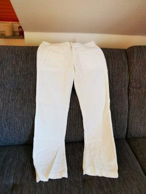 edc Pantalón de lino blanco Lino