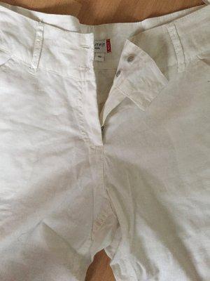 Weiße Leinenhose in Größe 40