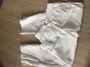 Calvin Klein Pantalón de lino blanco