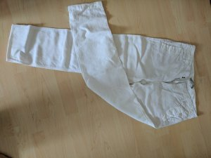 Drykorn Pantalón de lino blanco