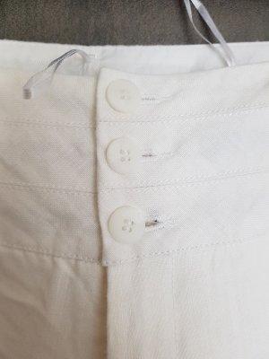 WE Pantalón de lino blanco