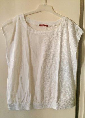 Weiße, lockere Bluse
