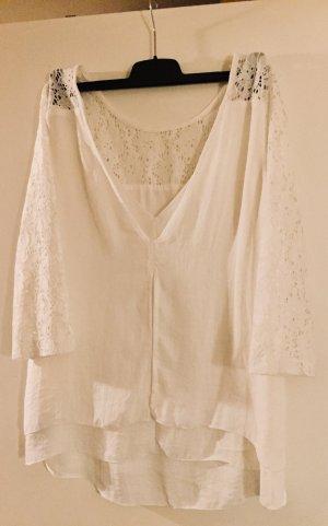 Weiße, lockere Bluse von Edc