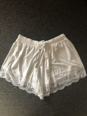Asos High-Waist-Shorts white