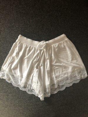 Weiße lockere Short von Asos