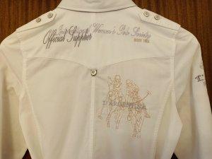 Weiße Long-Bluse von L'Argentina