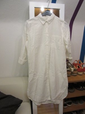 Lange blouse wit