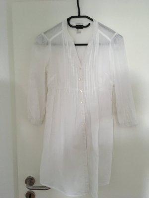 Weiße Longbluse von H&M