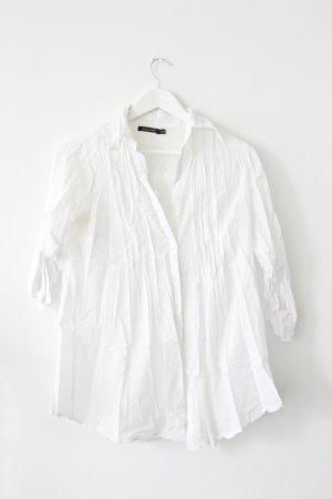 Weiße Longbluse von Primark