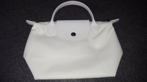 Longchamp Carry Bag white nylon