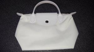 Longchamp Draagtas wit Nylon