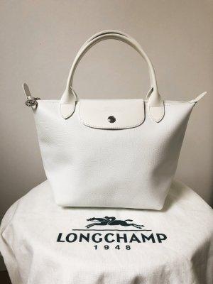 Longchamp Handtas wit Leer