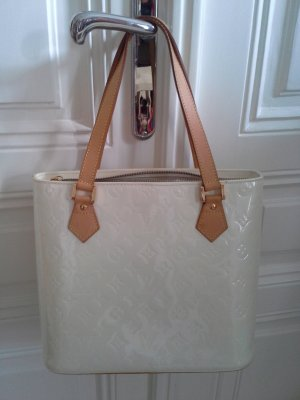 Louis Vuitton Carry Bag natural white synthetic