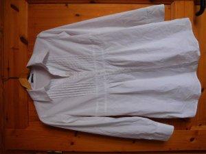 Weiße luftige Bluse (gut für Bewerbungen)