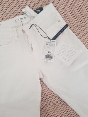 weiße mango Hose mit Etikett