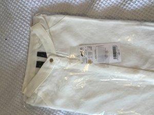 Weiße Mango leichte Bluse