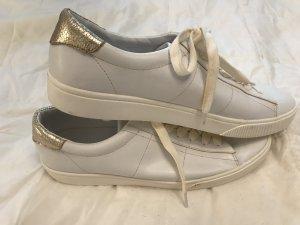 Mango Lace-Up Sneaker white