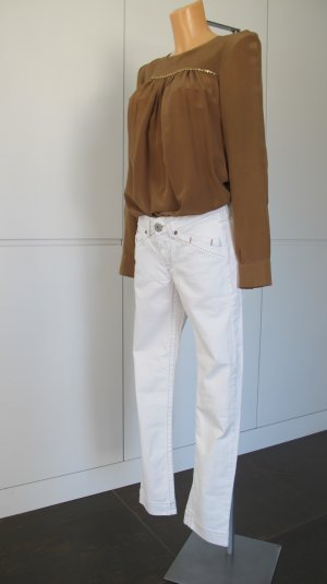 "Weiße ""Marithé et François Girbaud"" Straight-Cut Jeans W28 Gr. 36"