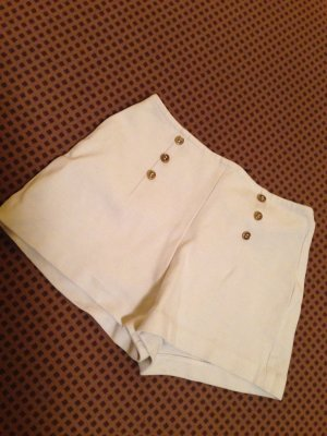 Weiße Matrosen Shorts