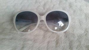 weiße Michael Kors Sonnenbrille