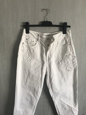 Zara Jeans carotte blanc