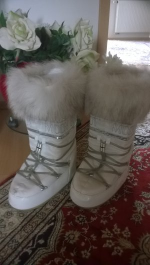 Weisse Moon Boots - Tecnica