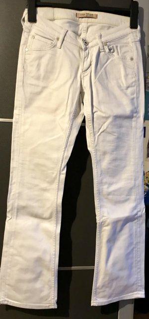 Weiße Mustang Hose