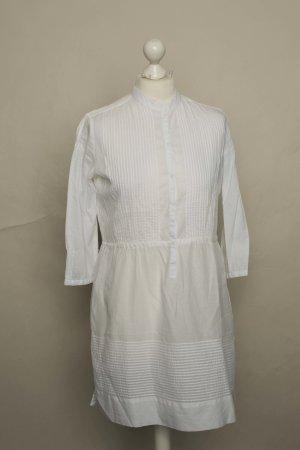 Mango Long Blouse white
