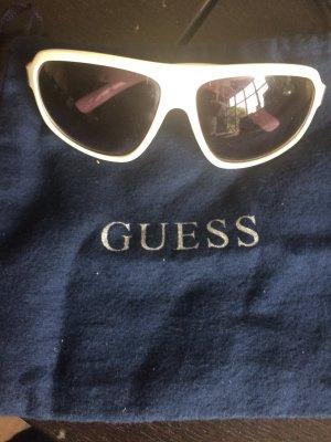 Weisse Original Guess Sonnenbrille