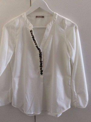 Weisse Orsay Bluse, Größe S, Damen