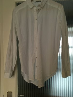Weiße Oversize Bluse Von H&M