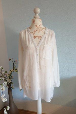 weiße oversized Bluse, Tunika von H&M