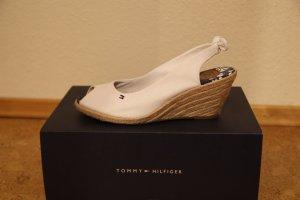 Weiße Peeptoes von Tommy Hilfiger