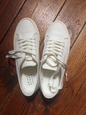 Weiße Platon sneakers