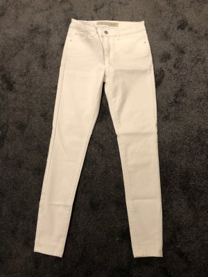 Primark Drainpipe Trousers white