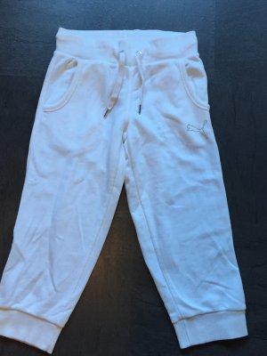 Weiße Puma Sporthose