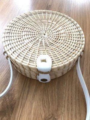 Basket Bag oatmeal-white