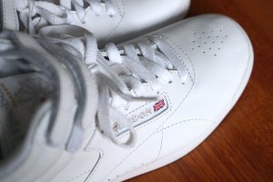 Weiße Reebok Classic Sneaker High Top in 37,5 - wie neu!