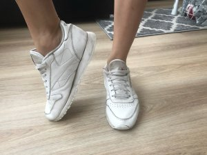 Weiße Reebok Schuhe