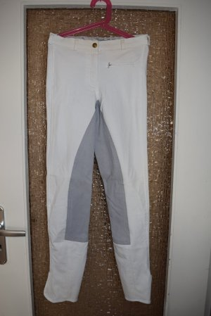 EQUITARE Riding Trousers white-silver-colored mixture fibre