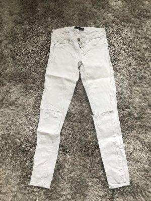 Weiße ripped jeans Größe 34