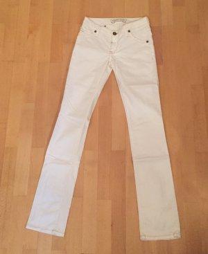 Weiße Robin's Jeans Größe 26