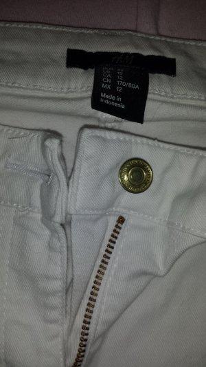 weiße röhren Jeans H&M