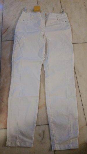 Biba Tube Jeans white