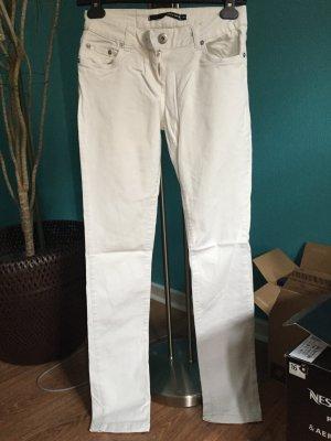 Weiße Röhrenjeans von Tally Weijl, Größe 36
