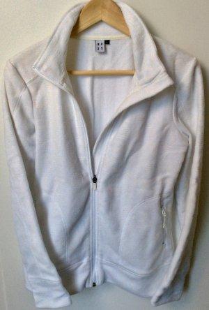 weiße Roxy Sweat Jacke in Größe M
