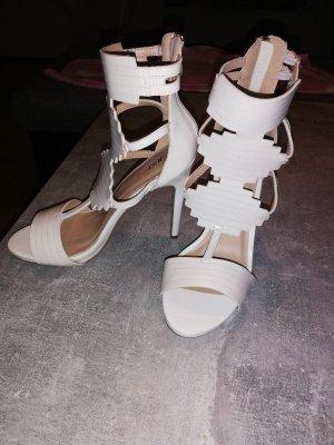 Just Fab High Heel Sandal white